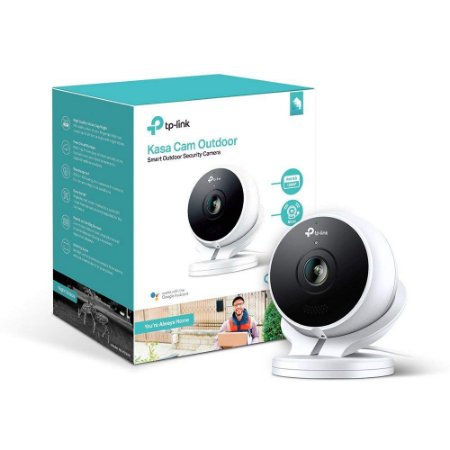 Kasa Cam by TP-Link KC200 WiFi Outdoor Camera Alexa & Google Compatível