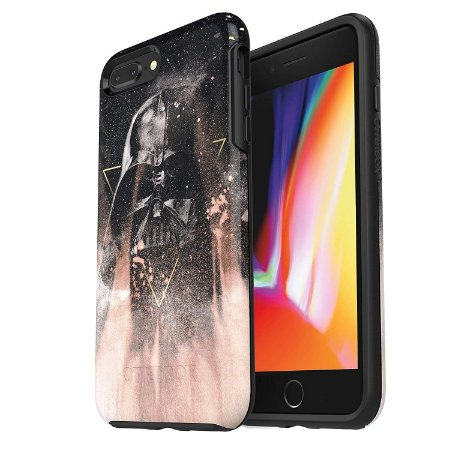 Case iPhone 8 Plus & iPhone 7 Plus Symmetry Star Wars Darth Vader - Otterbox