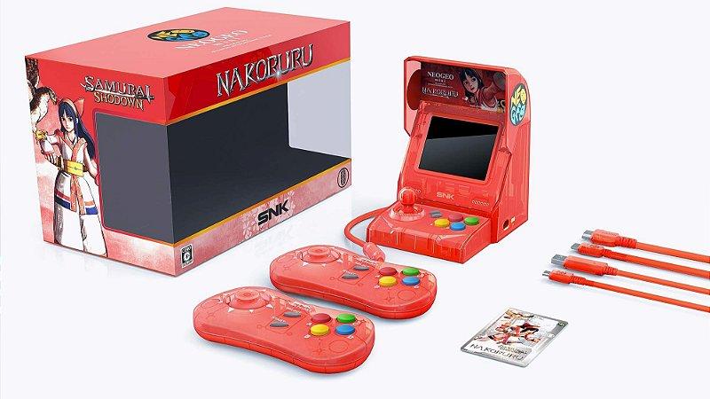 SNK NEOGEO Mini Samurai Shodown Limited Ed Bundle Nakoruru