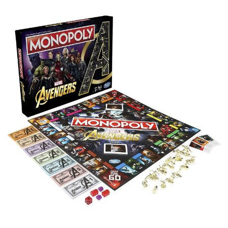 Monopoly Avengers Hasbro (Inglês)