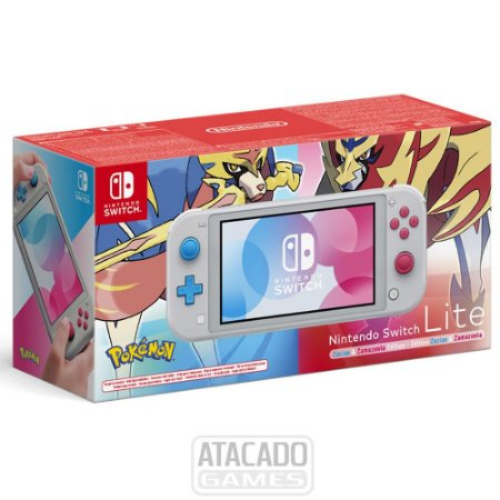 Nintendo Switch Lite Zacian and Zamazenta Pokemon Edition