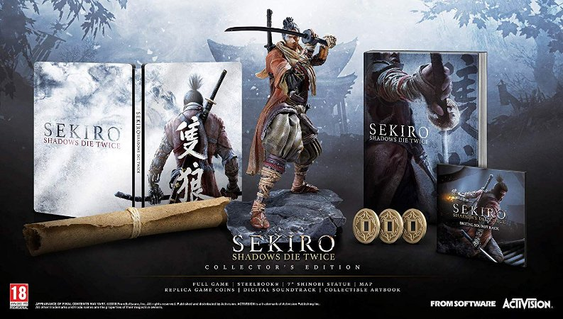 Sekiro Shadows Die Twice Collectors Edition - PS4