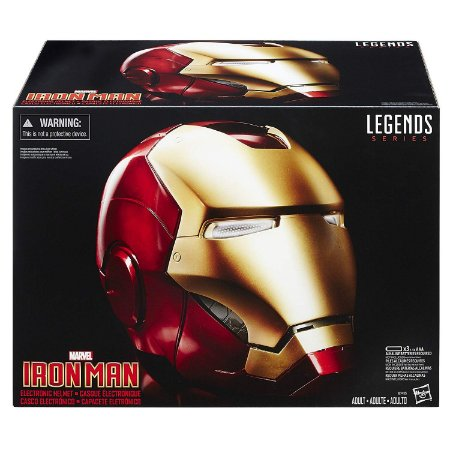 Capacete Marvel Legends Iron Man Electronic Helmet