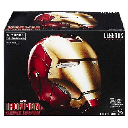 Capacete Marvel Legends Iron Man Electronic Helmet