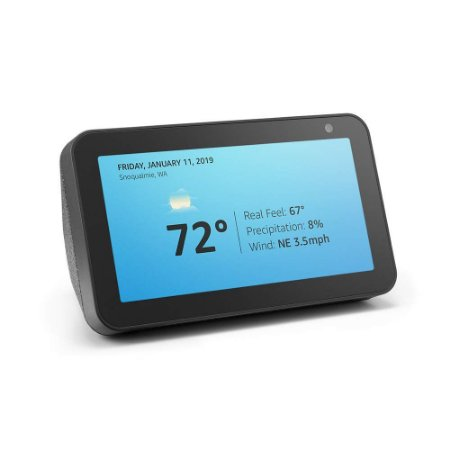 Amazon Echo Show 5 Smart Display C/ Alexa - Charcoal