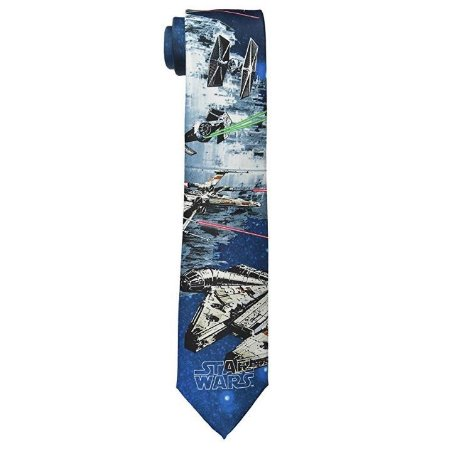 Gravata Star Wars Death Star Battle Tie
