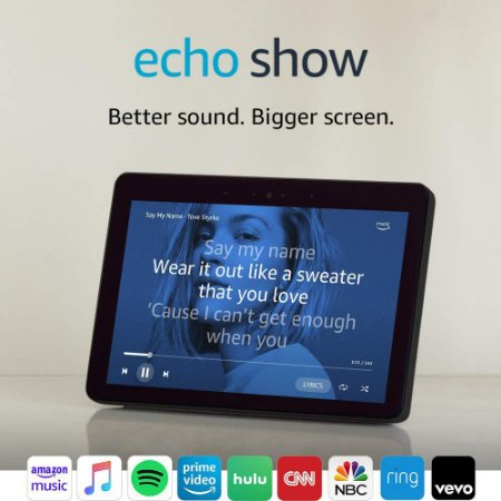 Amazon Echo Show 2nd Gen 10.1 HD Screen Charcoal C/ Alexa
