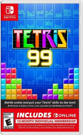 Tetris 99 + 12 Meses Nintendo Online Membership USA - Switch