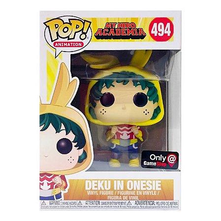 Funko Pop My Hero Academia 494 Deku in Onesie Exclusive