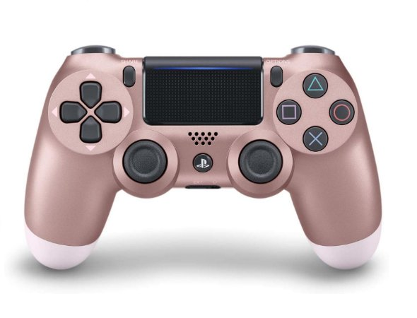Controle DualShock 4 Wireless Controller Rose Gold Rosa - PS4