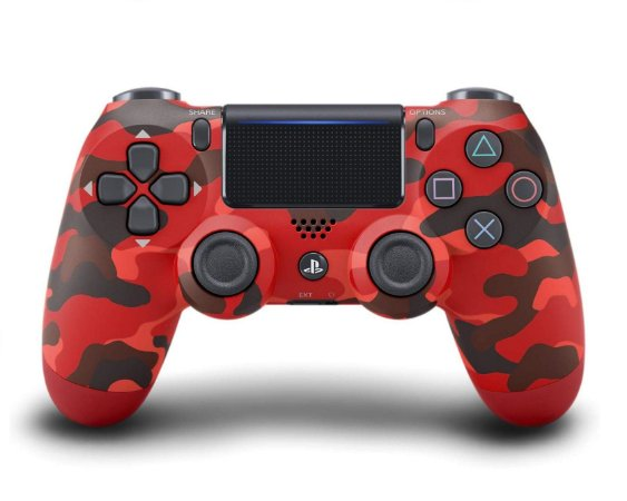 Controle DualShock 4 Wireless Controller Red Camo - PS4