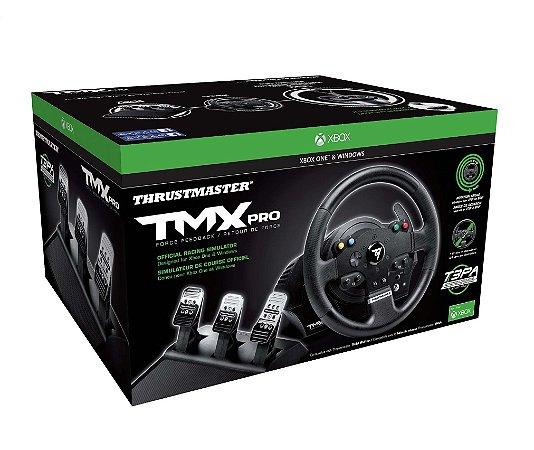 Volante c/ Pedais Thrustmaster TMX PRO Racing - Xbox One e PC
