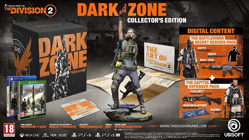Tom Clancys The Division 2 The Dark Zone Collectors Edition - Xbox One