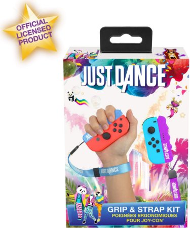 Just Dance 2019 / 2020 Grip & Strap Pack Blue  Purple - Switch