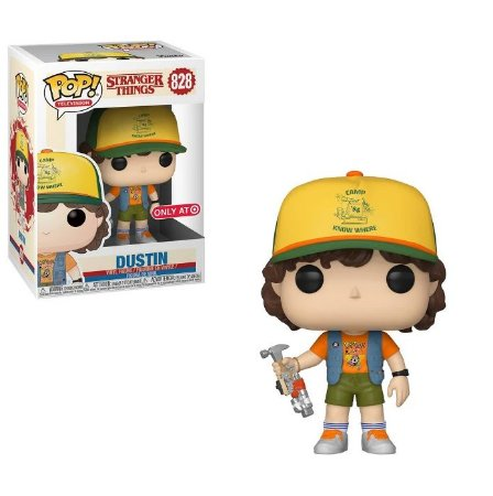 Funko Pop Stranger Things 828 Dustin With Roast Beef Tee