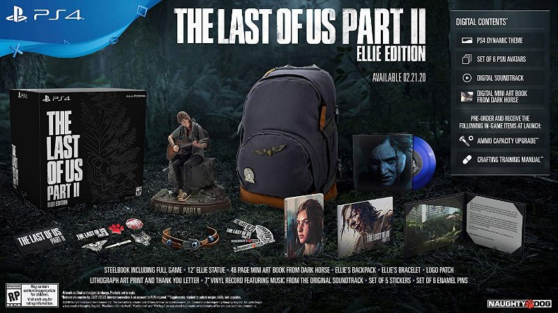The Last of Us Part II Ellie Edition Collectors - PS4