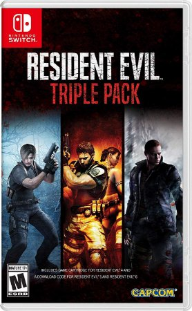 Resident Evil Triple Pack - Switch