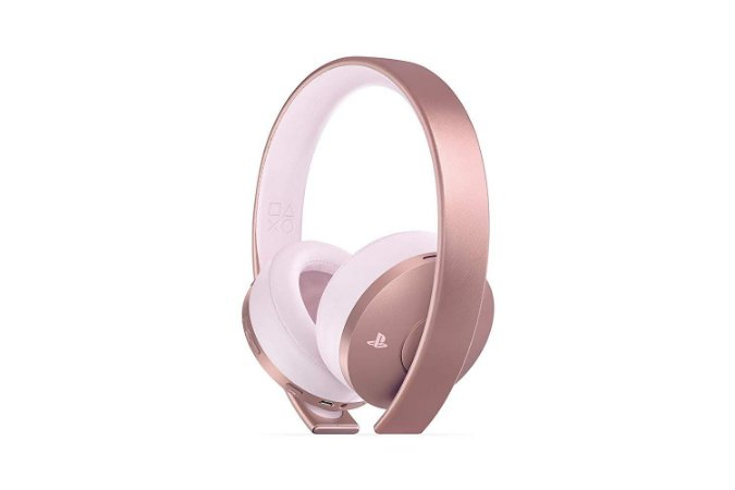 Headset PlayStation Gold Wireless Rose Gold - PS4