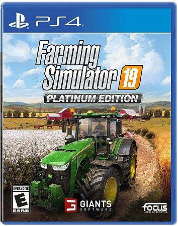 Farming Simulator 19 Platinum Edition - PS4