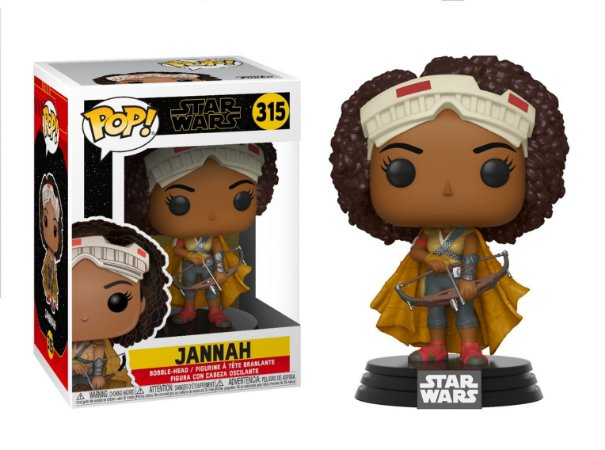 Funko Pop Star Wars Episode 9 Rise of Skywalker 315 Jannah