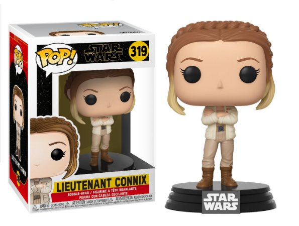 Funko Pop Star Wars Episode 9 Rise of Skywalker 319 Lieutenant Connix