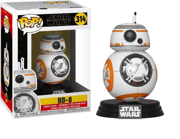 Funko Pop Star Wars Episode 9 Rise of Skywalker 314 BB-8