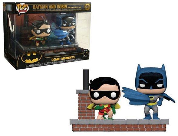 Funko Pop Batman 80th 281 Batman and Robin