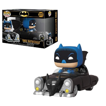 Funko Pop Batman 80th 277 1950 Batmobile with Batman