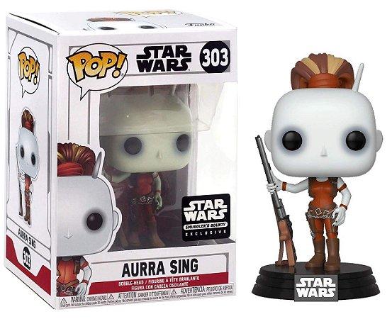 Funko Pop Star Wars 303 Aurra Sing Exclusive