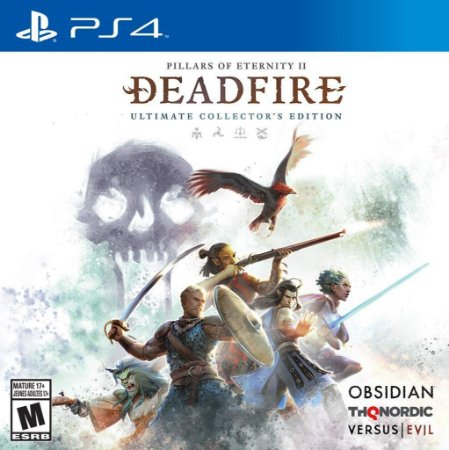 Pillars of Eternity II Deadfire Ultimate Collectors Ed - PS4