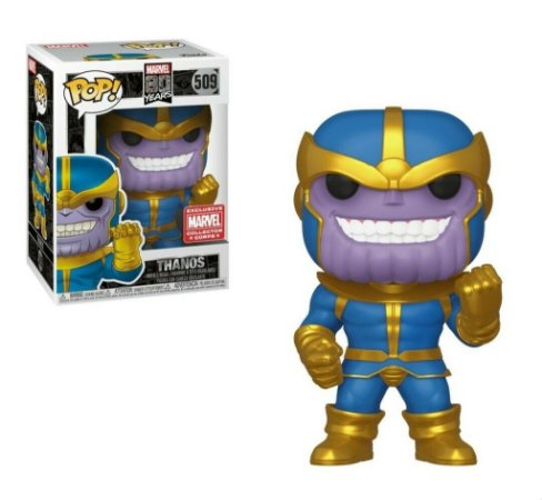 Funko Pop Marvel 80th 509 Thanos Exclusive