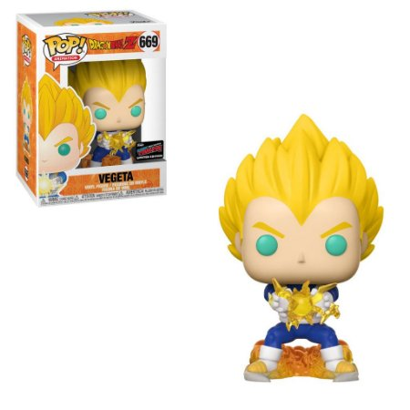 Funko Pop Dragonball Z 669 Vegeta Exclusive NYCC 2019