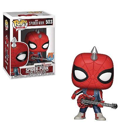Funko Pop Marvel Spider-Man 503 Spider Punk Exclusive