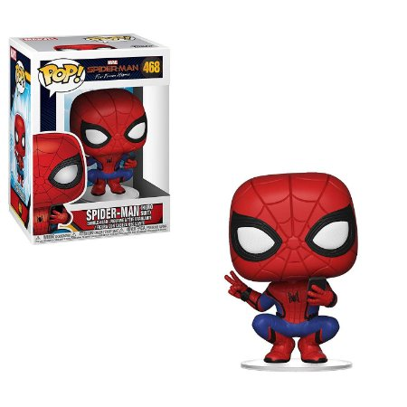 Funko Pop Far from Home 468 Spider-Man Hero Suit