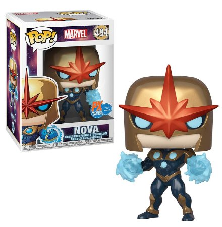 Funko Pop Marvel 494 Nova Prime Exclusive