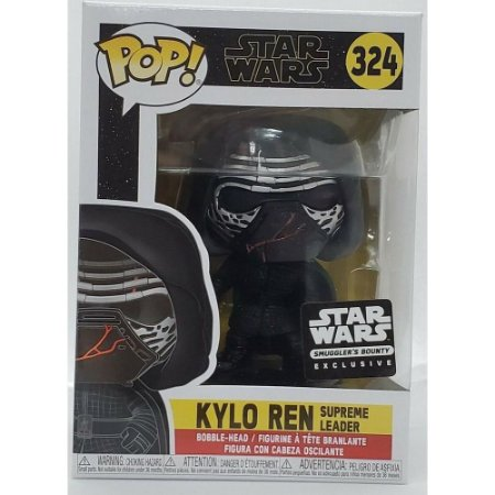 Funko Pop Star Wars 324 Kylo Ren Supreme Leader Exclusive