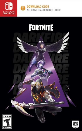 Fortnite Darkfire Bundle Fogo Sombrio - Switch