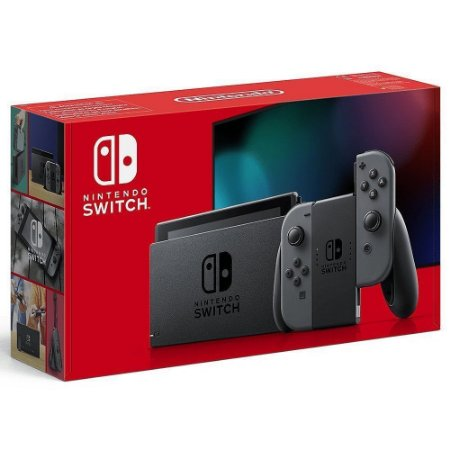 Console Nintendo Switch New Battery Model Gray - Cinza