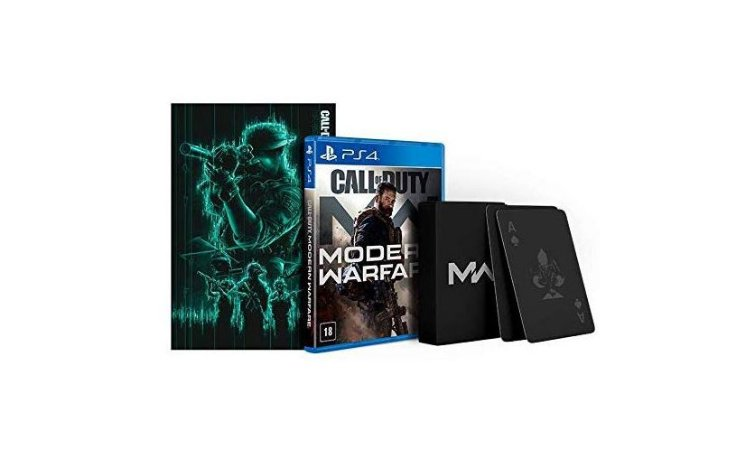 Call of Duty Modern Warfare 2019 Edição Especial - PS4