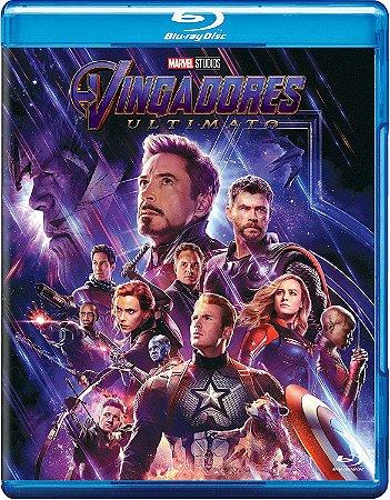 Filme Vingadores Ultimato C/ Bônus Blu-ray