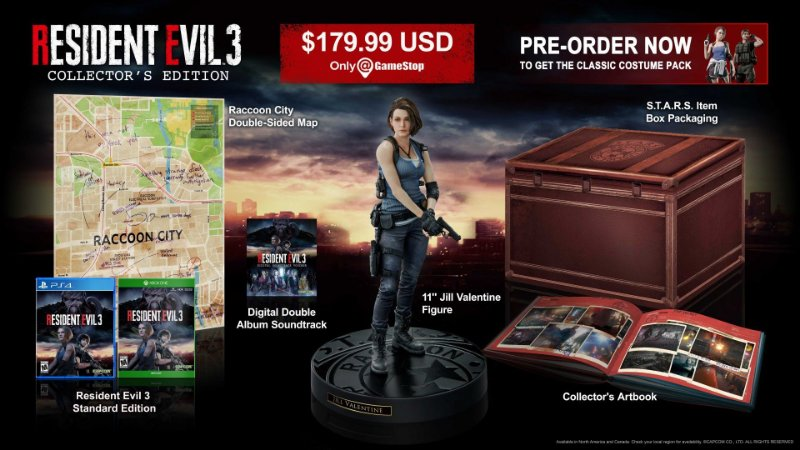 Resident Evil 3 Collectors Edition - PS4
