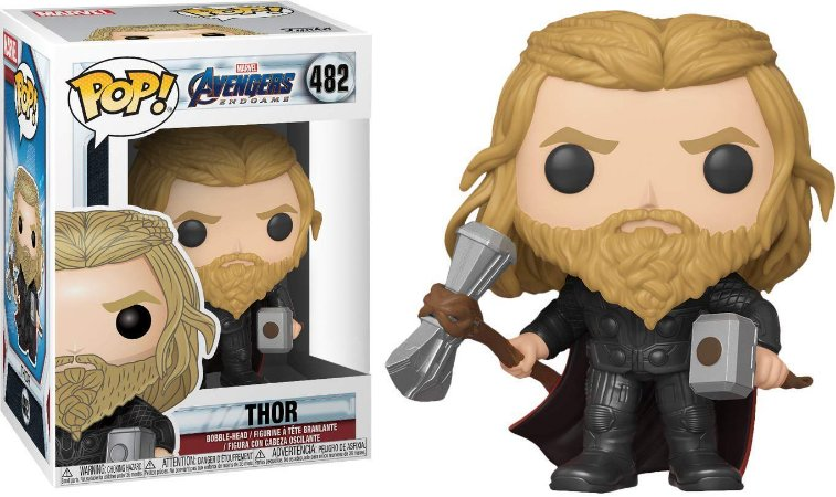 Funko Pop Avengers Endgame 482 Thor Special Edition