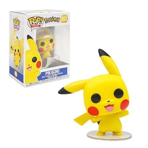 Funko Pop Pokemon 553 Pikachu Waving