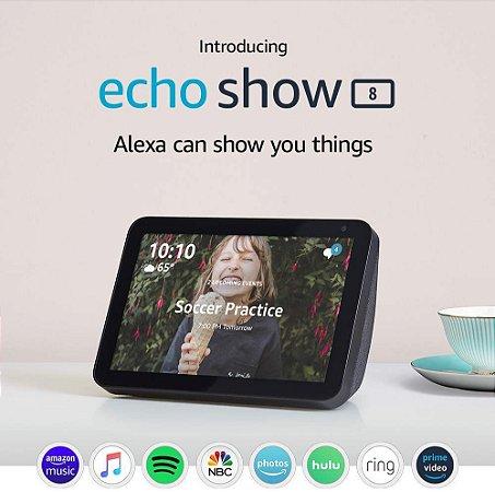 Amazon Echo Show 8 HD 8 Smart Display C/ Alexa - Charcoal