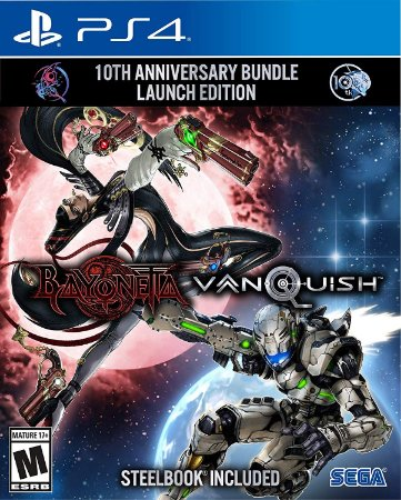 Bayonetta & Vanquish 10th Anniversary Bundle Launch Edition - PS4