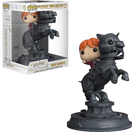 Funko Pop Harry Potter 82 Ron Weasley Riding Chess Piece