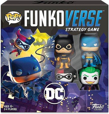 Funko Pop Funkoverse Strategy Game DC Batman Base Set - Inglês