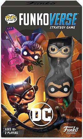 Funko Pop Funkoverse Strategy Game DC - Inglês