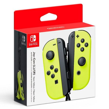 Nintendo Joy-Con (L/R) Amarelo Neon - Switch