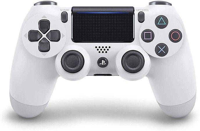 Controle Dualshock 4 Wireless Glacier White Branco Glacial - PS4